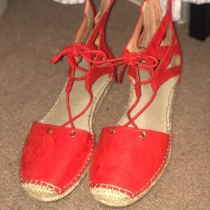 Shoes - Red Sandals